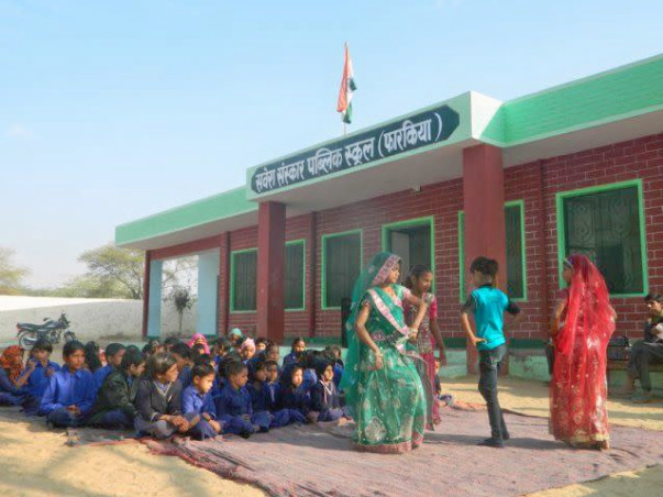 Help Girl Child Education Programme In Rajasthan