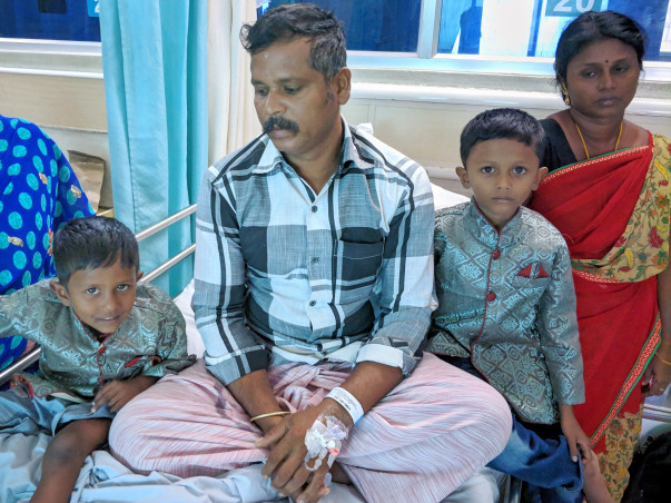 A Poor Farmer Needs Help To Get a Bone Marrow Transplant