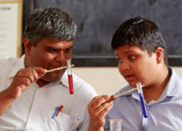 Educate a visually Challenged Child