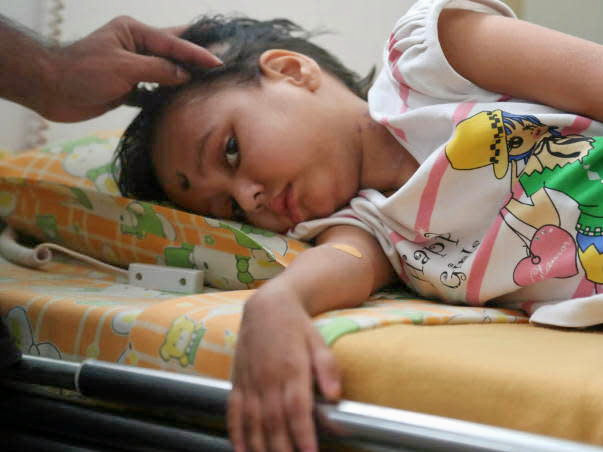 6-year-old Angel is close to beating cancer but needs more treatment