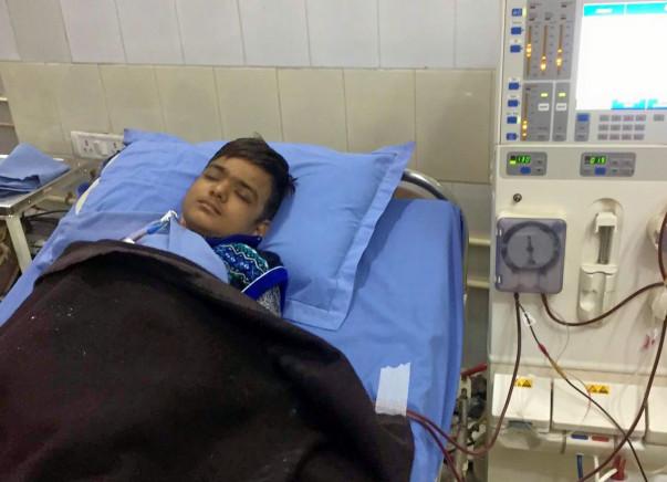 Help Nikhil fight Chonic Kidney Disease
