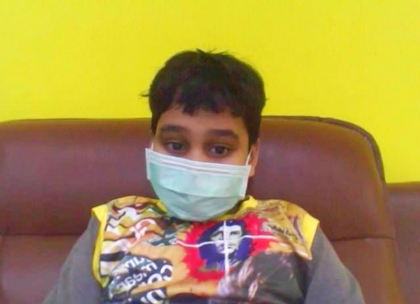 Help 12-year-Old Harsh Stay Alive.