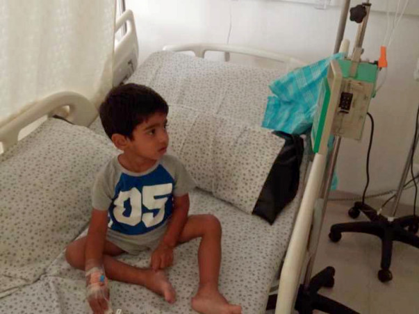 Help my kid HARI is fighting Leukemia Blood Cancer.(ALL-T-CELL)