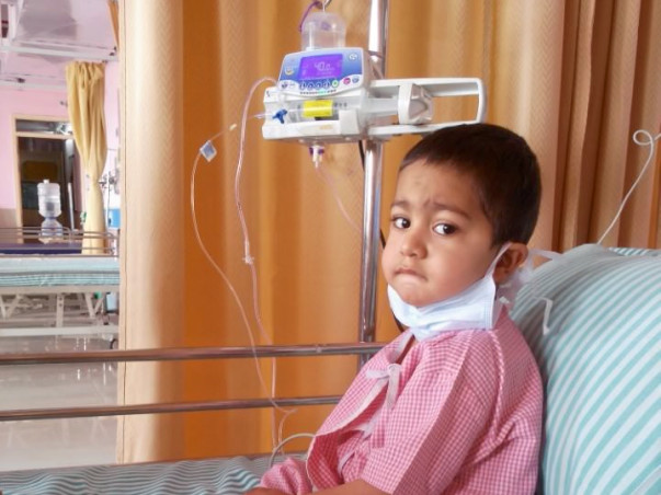Help 2-year-old Arsalan Continue Treatment Post Transplant.