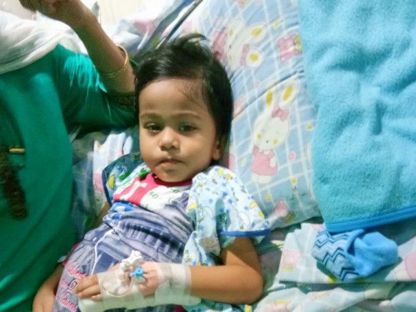 Help 2.5-Year-Old Udipta Fight Cancer