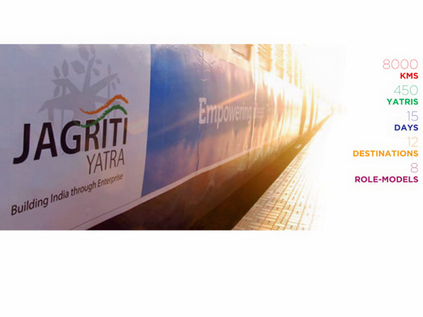 Assist me for Jagriti Yatra- Building India through Enterprise