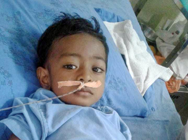Toddler Fights Final Stage Cancer! Please Help!