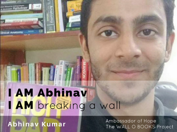 Join Abhinav to bring hope to 1 Million Kids in India