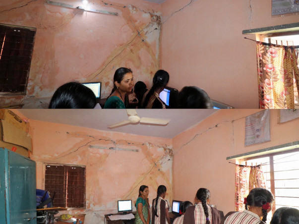 Donate for the Building Construction. Anjana Deaf & Dumb Girls School.