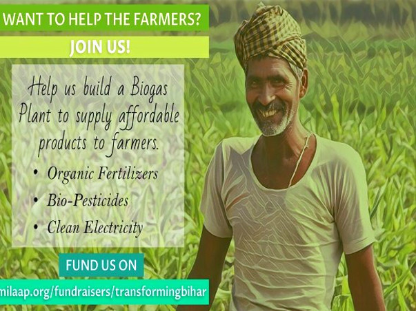 Help us Transform Farmers lives in Bihar