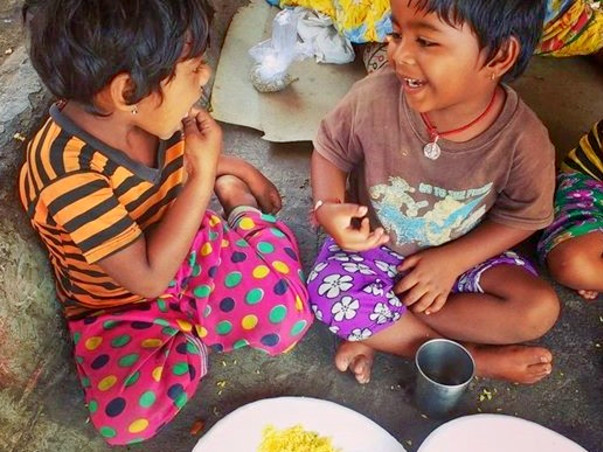 Help Ankit Kawatra provide daily meals for underprivileged kids