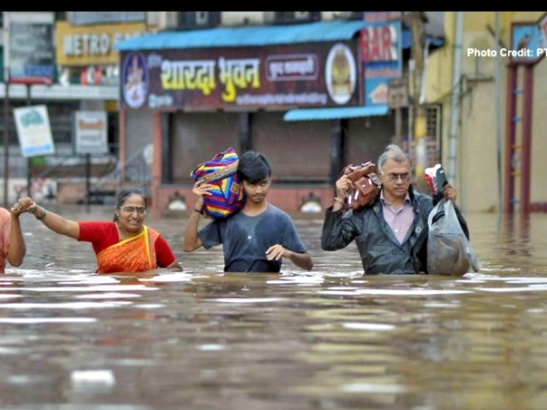 Help for Kolhapur And Sangli flood people's