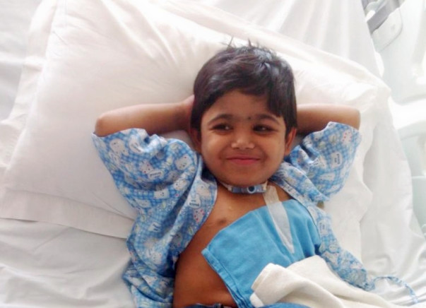 I am fundraising to funding_Kidney-transplant_Elsa_8_Year_lost_voice