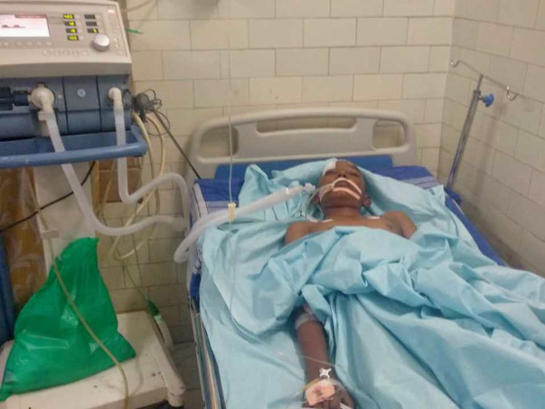 This 12 years old needs your urgent support in fighting Head injury and neurological shock