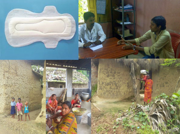 Sanitary Pad Making Social Enterprise -needs your support to sustain.