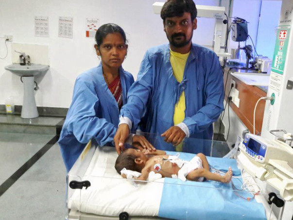 Help Bhagya's baby fight a severe stomach disease