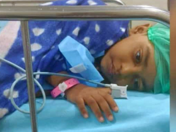Help 4 Year Old Davathi Fight Tumour