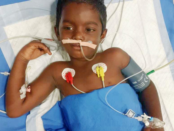 Support Hemanth Recover From Liver Failure