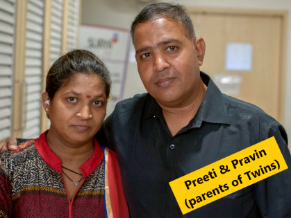 HELP PRAVIN SAVE HIS PREMATURE TWINS | Milaap