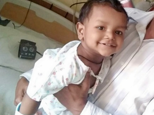 Let's help 18-month old Joel fight HUS disease