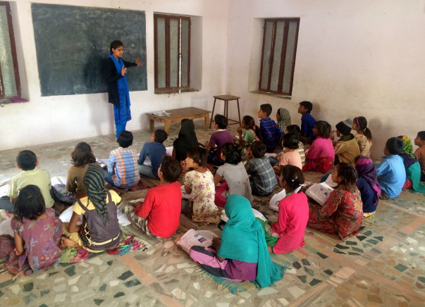 Support Krishna To Build A Computer Lab For School In Tilonia Village