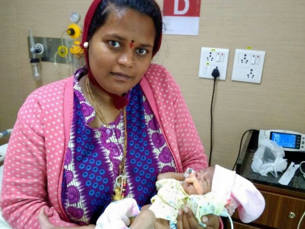 Help This 16-Day-Old Baby Who Is Struggling To Breathe On His Own