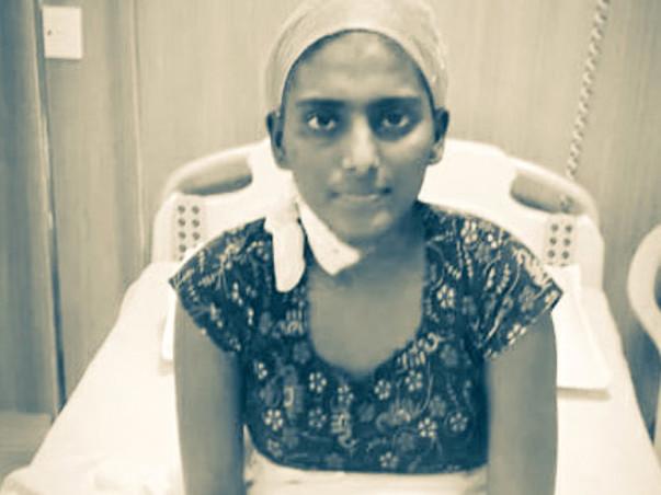 Santhi priya 19 Y, Battling with Blood Cancer (Acute Myeloid)
