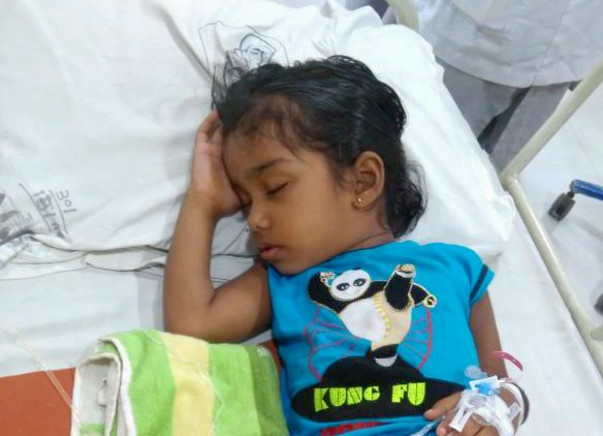 Praveena,3yrs Old Suffering From Blood Cancer (Stage1)