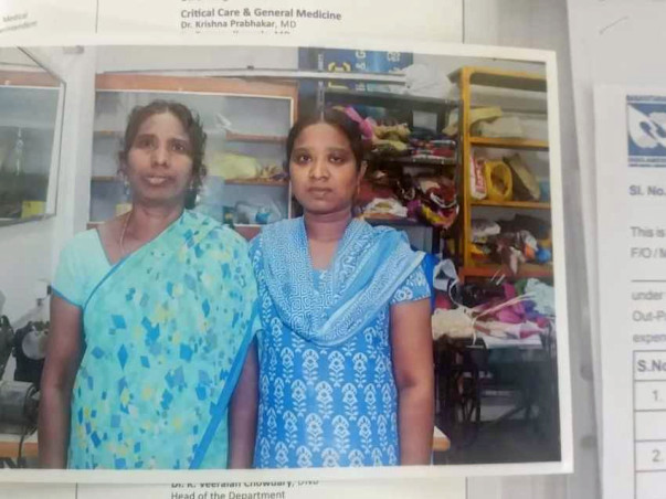 Help Vani's Daughter Sandhya For Her Surgery