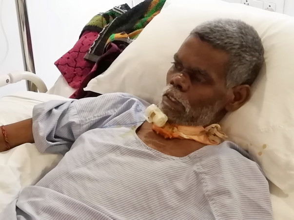 Help My Father Sheena to Recover From An Accident