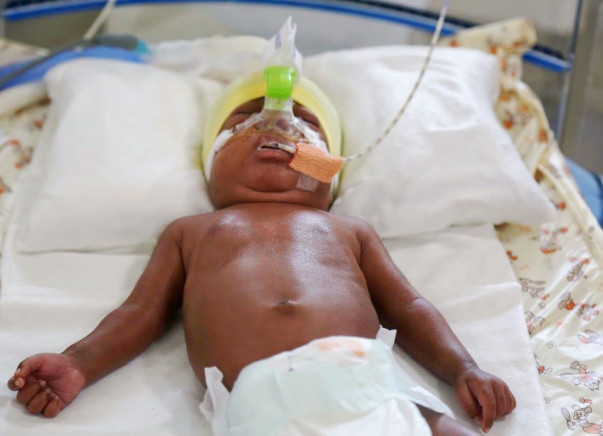 Idas new-born baby was born prematurely and is struggling to survive