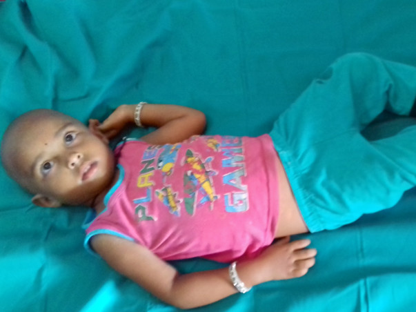 3-year-old Rithu needs your help to undergo a liver transplant