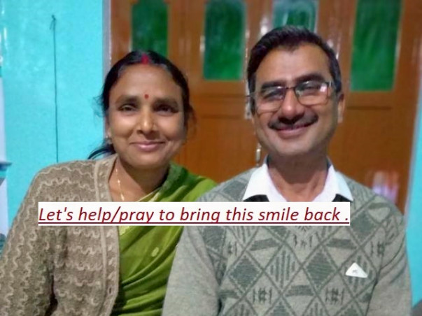 Support Pushpa Devi Recover From Brain Injury