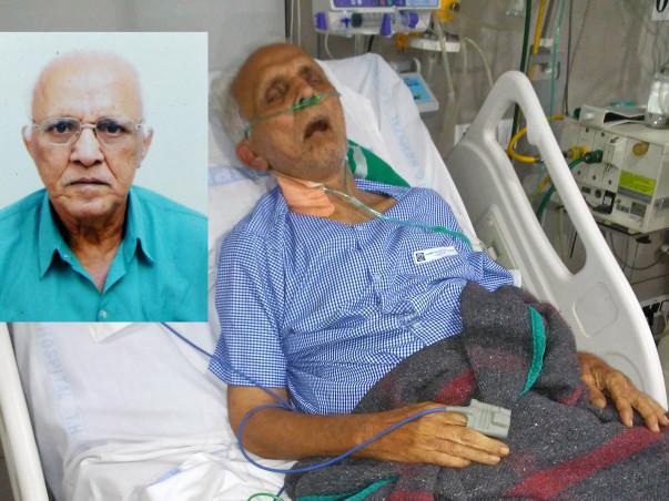 Help for Mr. Vijay Kulkarni who is in ICU struggling to survive