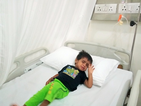 Help Ruthik Undergo Treatment For Cancer