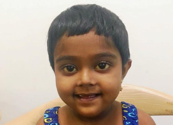 Help 6-Year-Old Akhina To Undergo A Liver Transplant