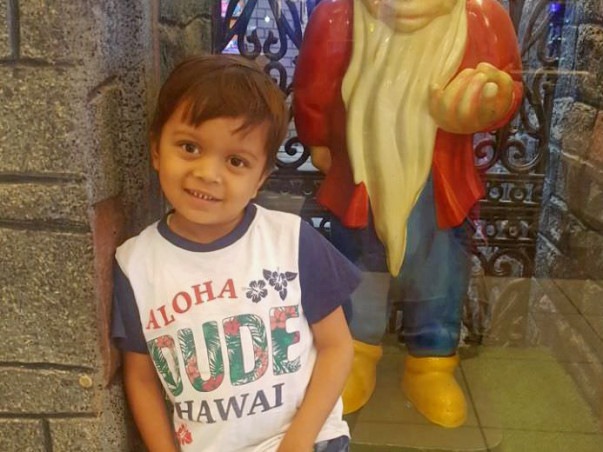 Help 5-year-old Aaryan fight a severe blood disorder