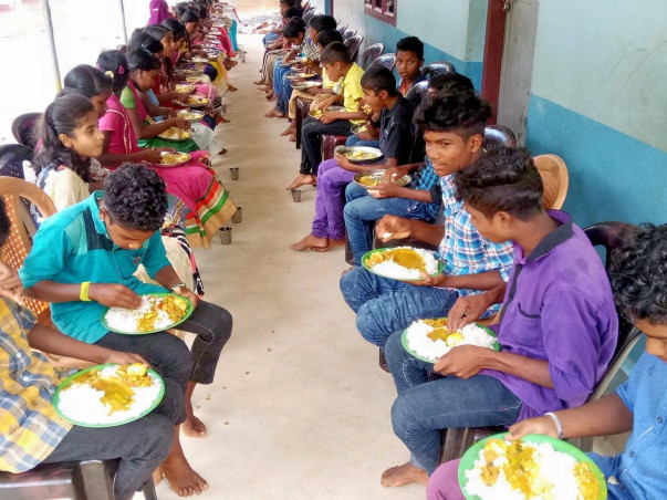 Help 60 Children to have nutritious food