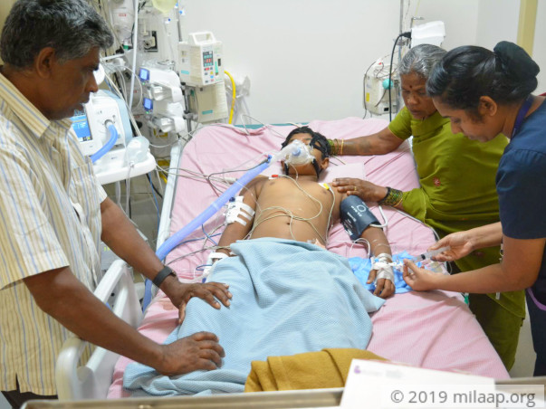 Help Gowtham Recover From Dengue Shock Syndrome