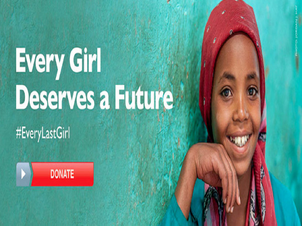 You can Educate 50 Girl Children for an Year