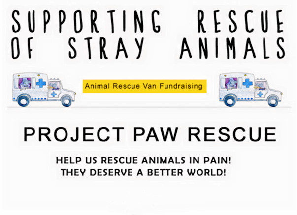 Fundraising for a Rescue Van for Stray Animals in Delhi