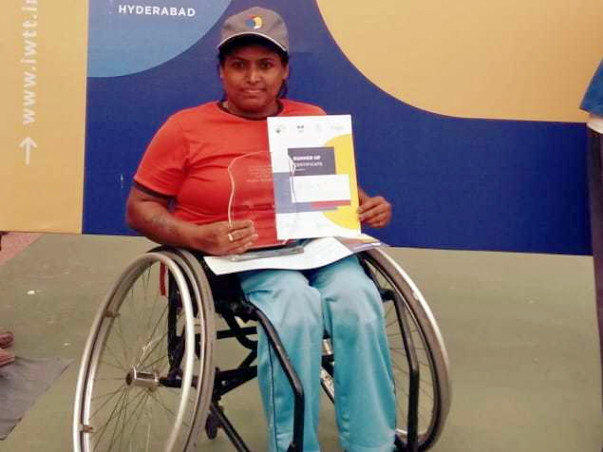 Help Shilpa Participate In Paralympic Tennis Tournament