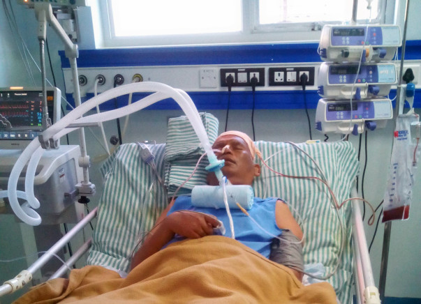 Help Radha Krishna Fight Intracerebral Hemorrhage