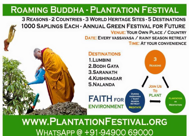 Roaming Buddha Plantation Festival Celebrations