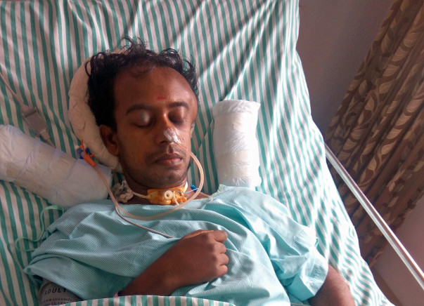 Help In Saving Nagaraj From Traumatic Brain Injury