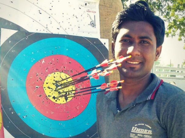 Help Abhishek - India's first teeth archer