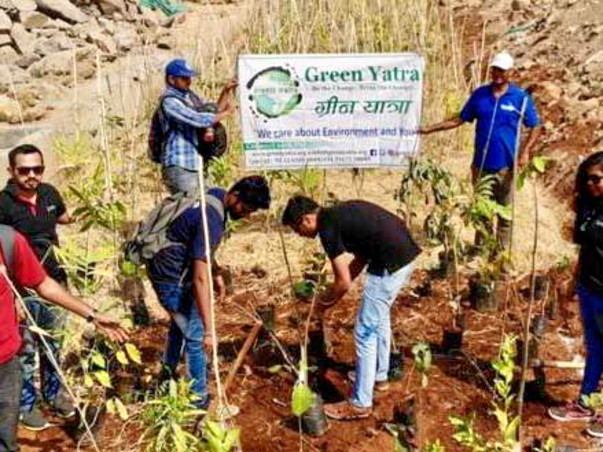 Tree Plantation drive-Your Single Penny Counts