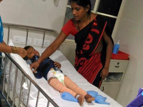 Help Sekhar For His Son's Treatment