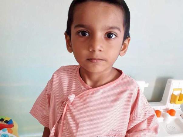 Help The 3-year-old, Adriz Dutta To Battle Blood Cancer