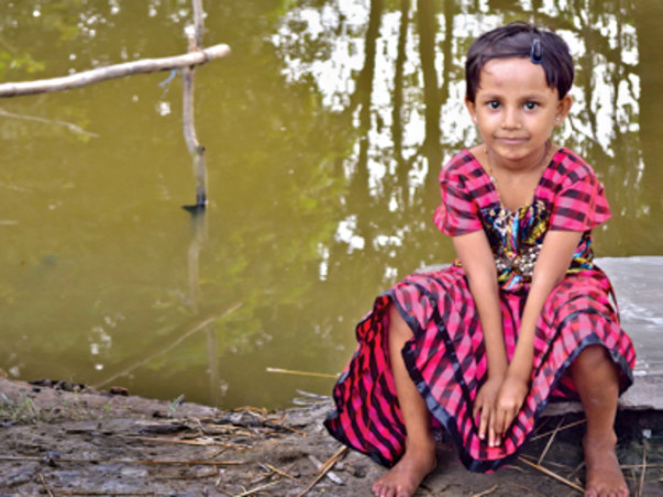 Aid children in rural West Bengal fight death by accessing safe water